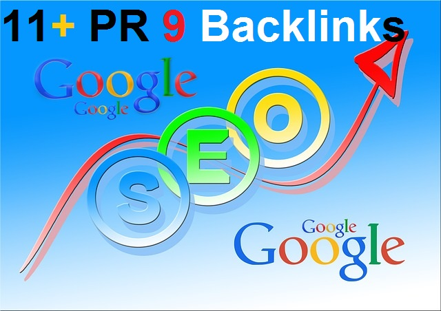 We will Create 11 PR9 panda,penguin and hummingbird safe backlinks from authority sites