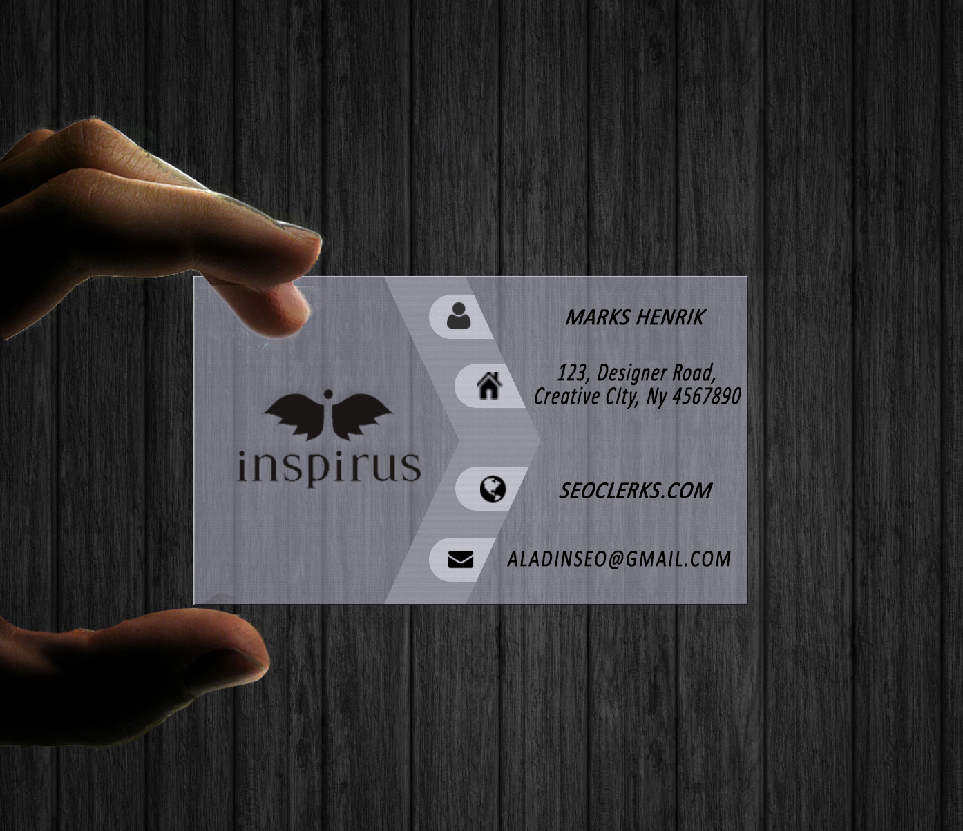 Design Professional Business Card OR Eye Catching Logo