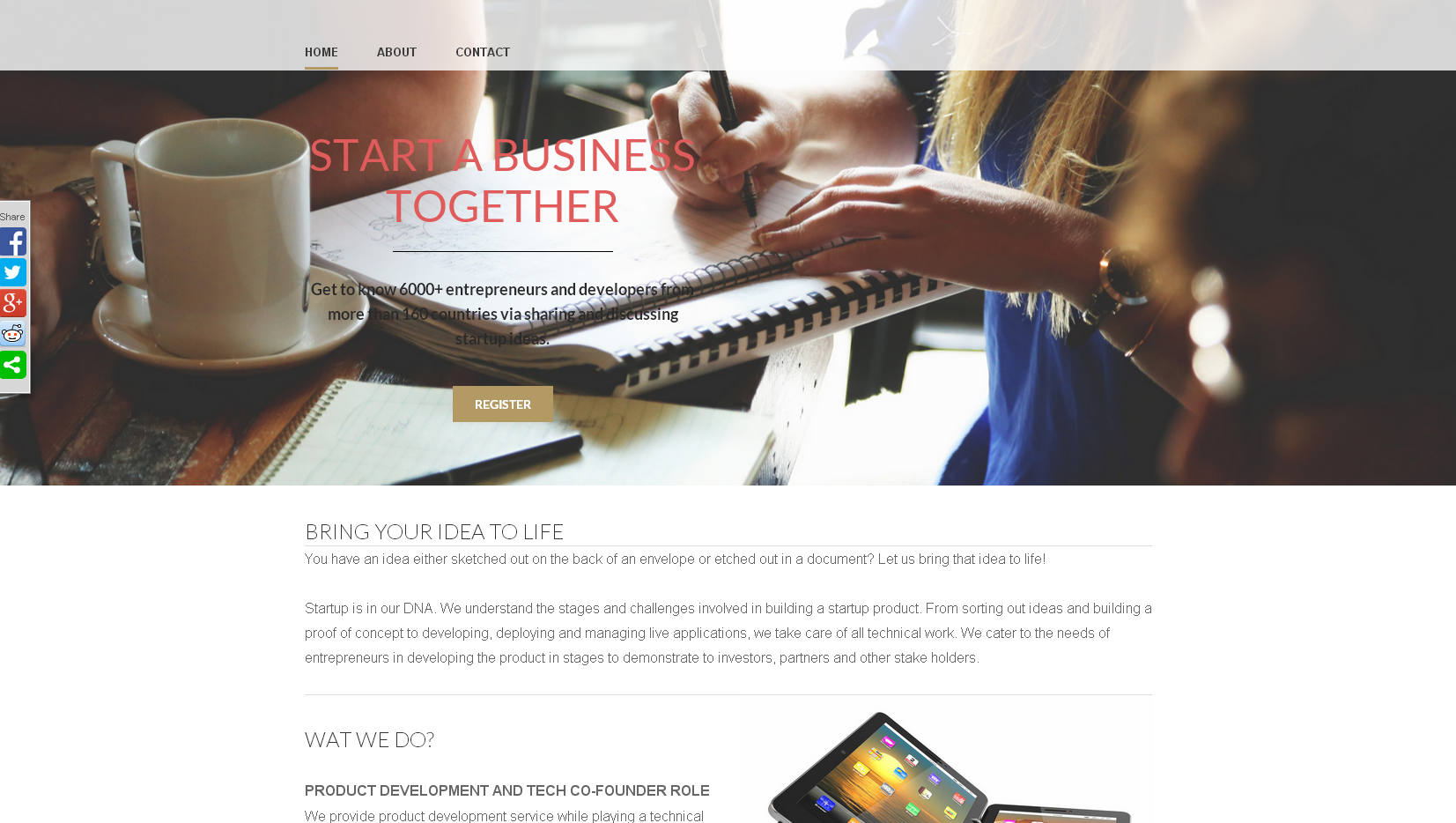 Corporate theme ideally suites for Startup
