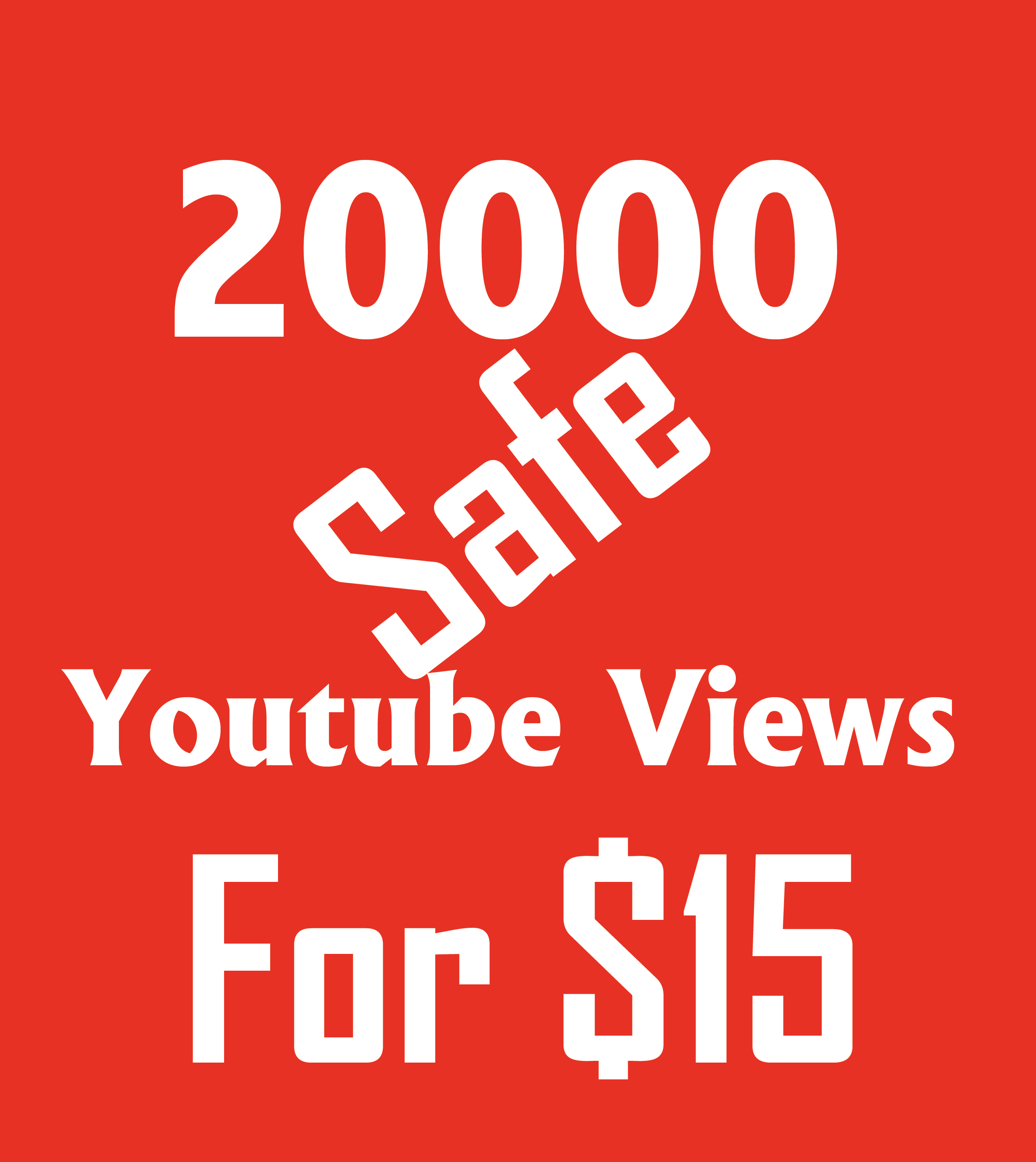 Fast service 20000 youtube vi-ews with 500 li-kes within 4-5 days only