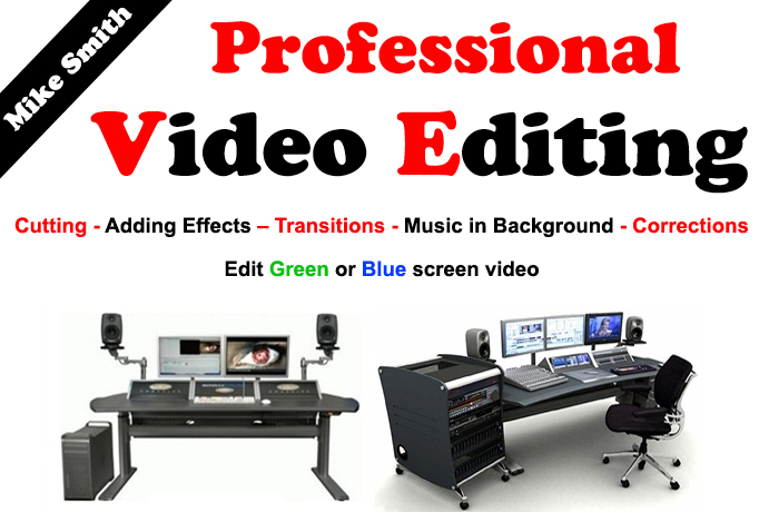Do Any Video Editing Professionally + Intros + Produc...