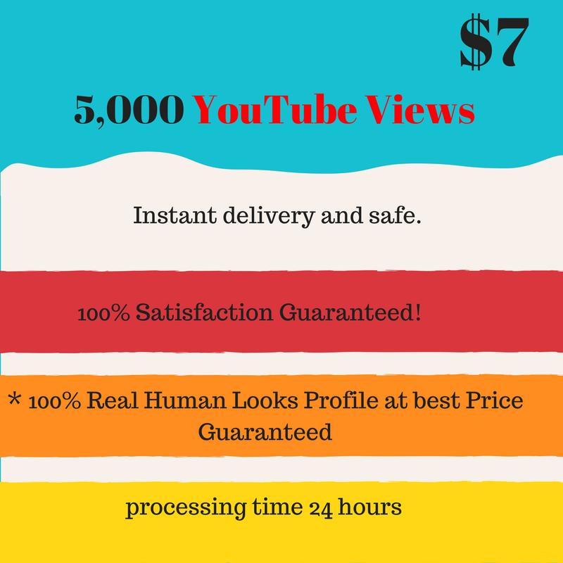 Super fastest 5,000 youttuber viewerss