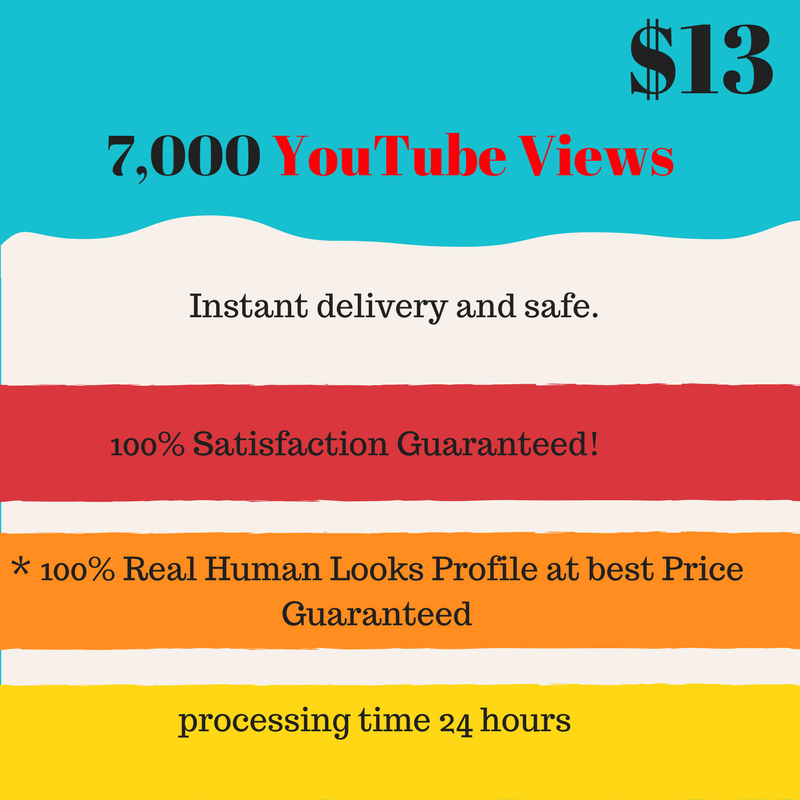 Super fastest 7,000 youtube viewers