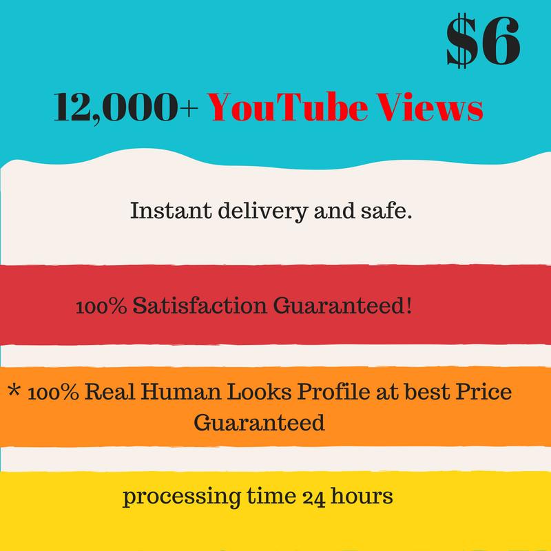 Super fastest 12,000 youttuber viewerss