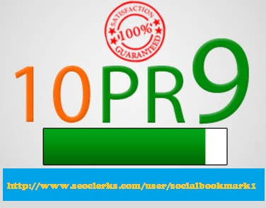 create 10 PR9 Top Quality SEO Friendly Backlinks from ® 10 Unique Pr 9 Authority Sites + Panda and Penguin Friendly + indexing MANUALLY
