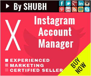 Instagram Account Manager