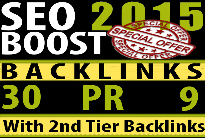 We manually do 30 PR9 to PR6 Safe SEO High Pr Backlinks 2015 Best Results