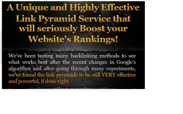 create Ultimate Link Pyramid with over 100 Web Properties and 2500 Wiki Articles