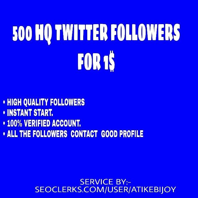 Instant Start Upto 1000 T-witter Followers or T-witter Re-tweets or Fabourite