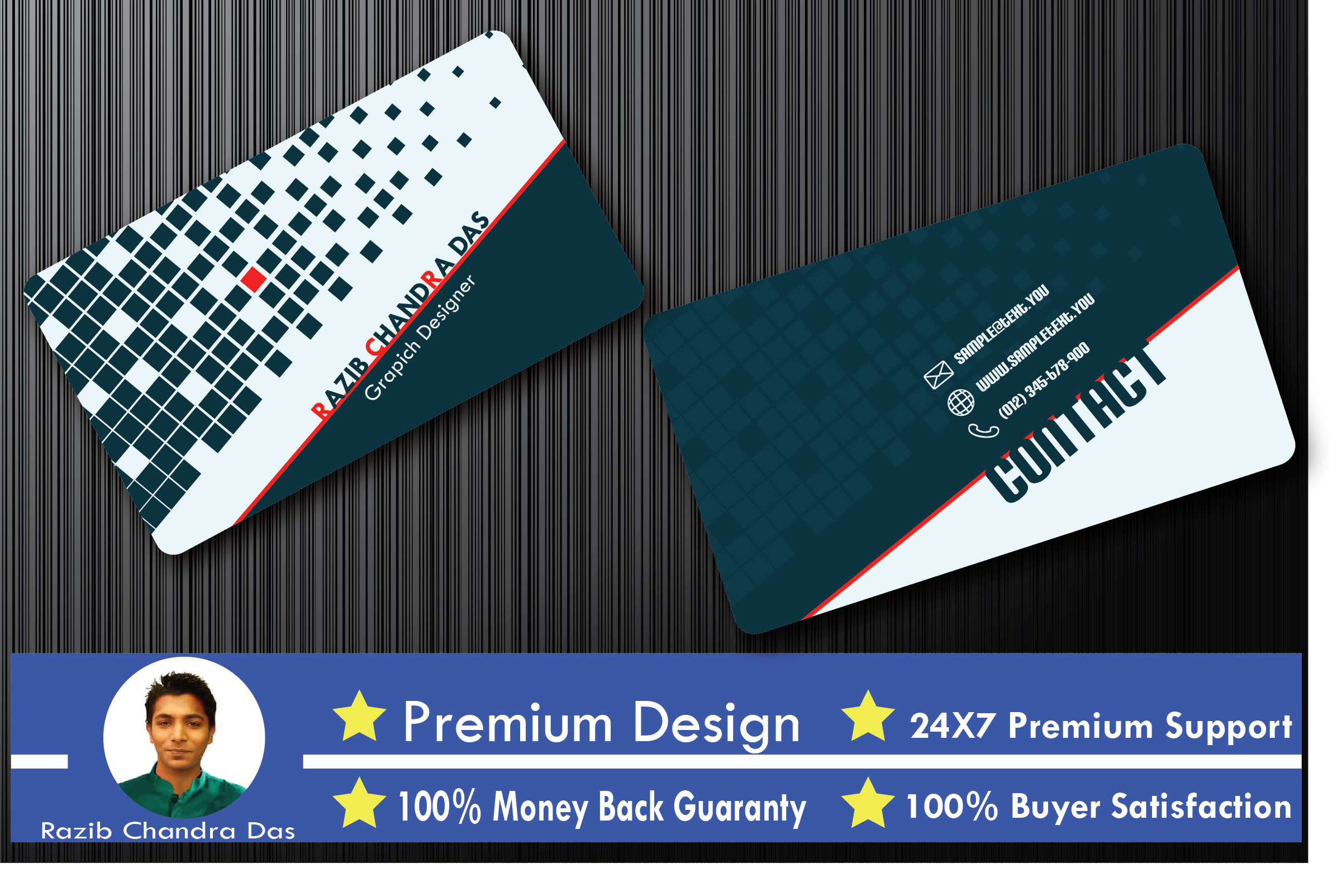 I Will Design Double Sided Business Card In 24 Hours