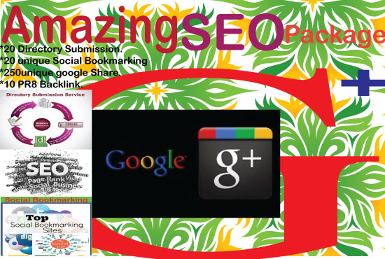 Amazing Seo Package For Google Ranking