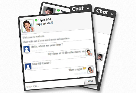 Add Live Chat into your website