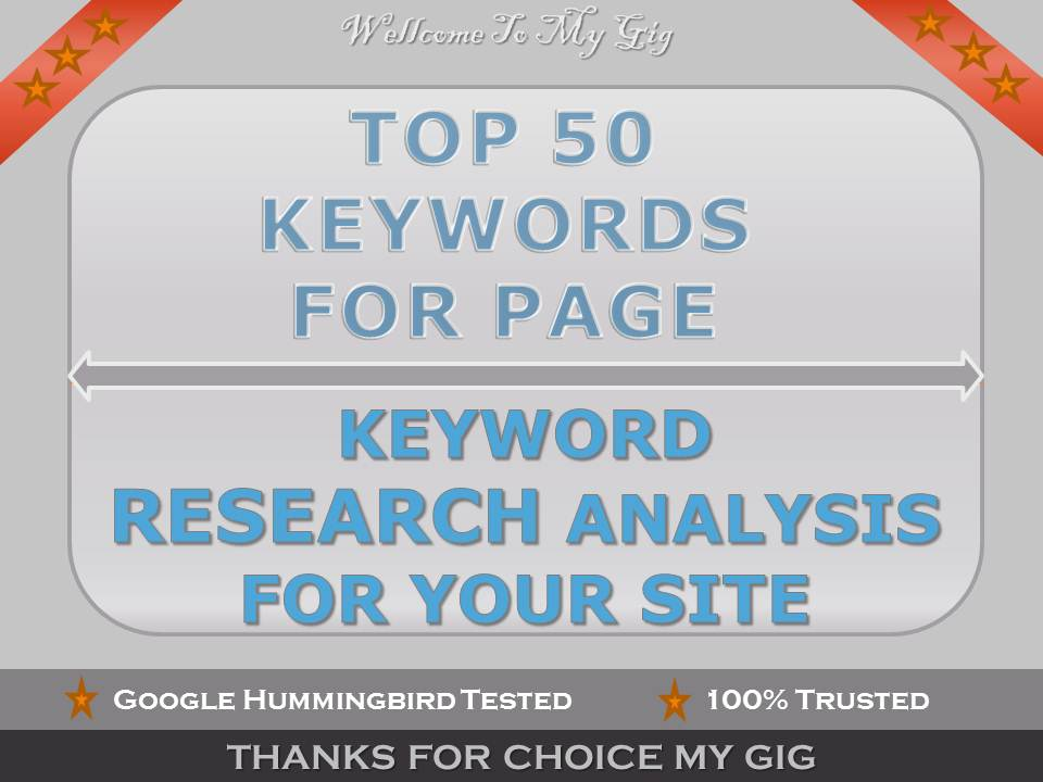 I will do best Keyword Research for your niche