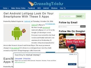 CrunchyTricks Sponsored Blog Review