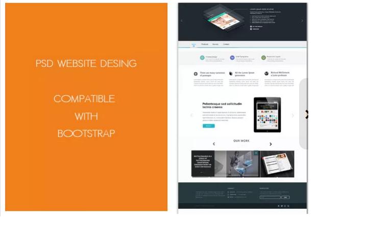 create Premium PSD Home Page Web Design