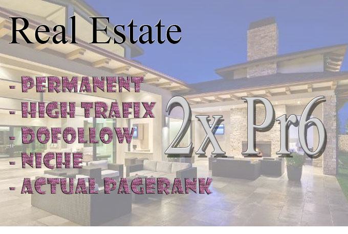 Real Estate 2x pr6 permanent link