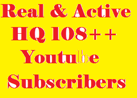 Real & Active 123+ YouTube subscribers From USA, UK, GERMANY, SPAIN, ITALY, FRANCE And ENGLISH For