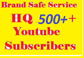 Super  Fast  500 Non-Drop YouT ube subscr ibers From USA, UK, GERMANY, SPAIN, ITALY, FRANCE And ENGLISH For