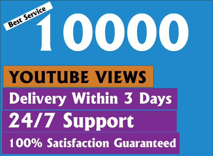 Cheapest 10000+ HR Youtube Views