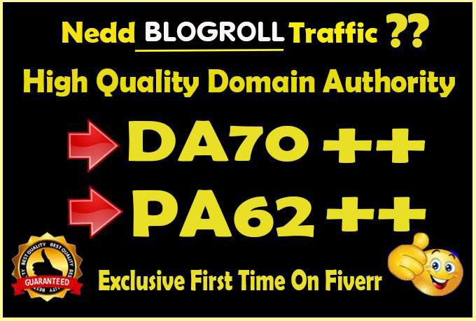 I will give link DA70x50 site blogroll permanent
