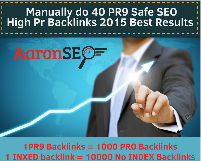 100 Percent DOFOLLOW- 40 PR9 HIGH AUTHORITY Safe SEO High Pr Backlinks 2015