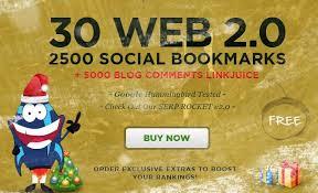 !!@@!@@ make 30 web 2,0 properties,2500 social bookmarks backlinks Buy Here ~!#@~