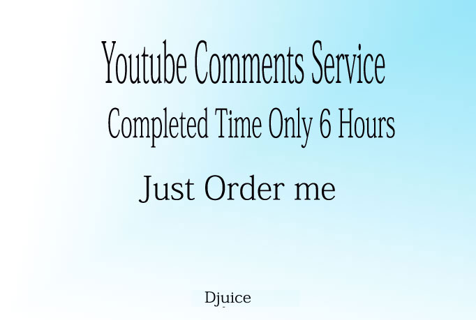 Add 25+ YouTube Comments to your video only