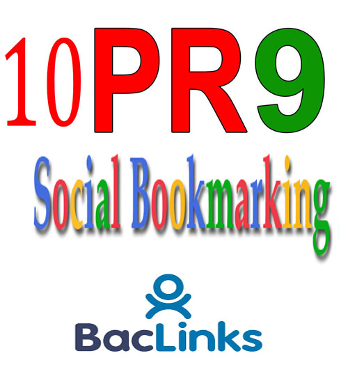Manual Social Bookmarking From Domain Authority 80+ Sites