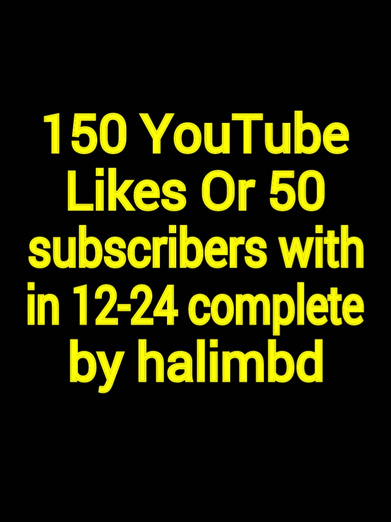 I will give you Youtube 250 likes Or  Genuine 30 custom comments or 30 subscribers with 12-24 hours