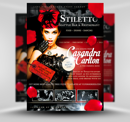 I will design very nice flyers and Posters just only