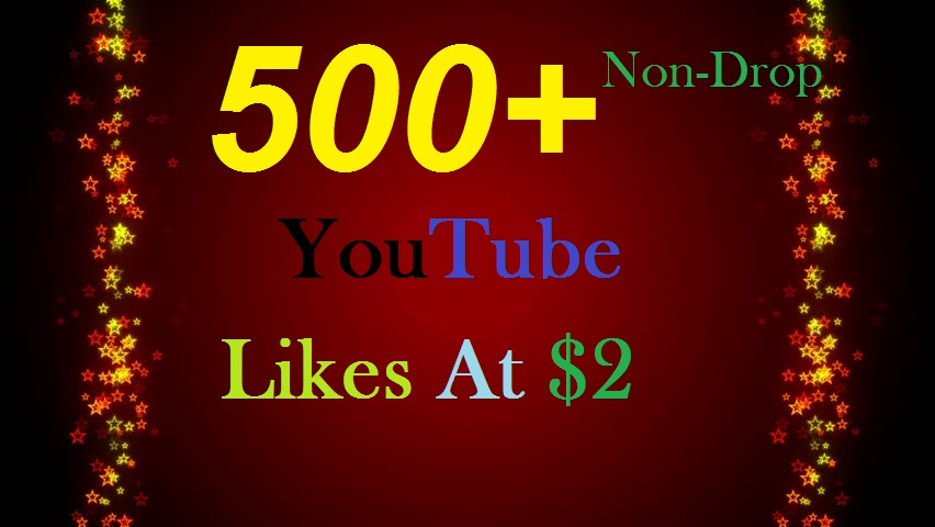 550+ INSTANT HQ YouTube Real Video Likes Safe, Fast & Non-Drop