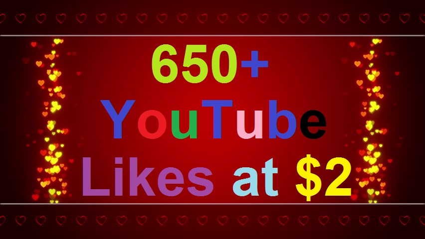 200 Real & Active Youtube video L