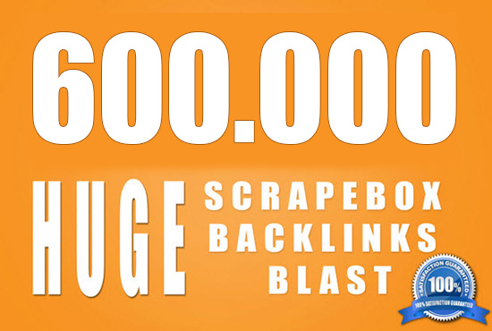 I will 600000 powerful seo backlinks !!!!!