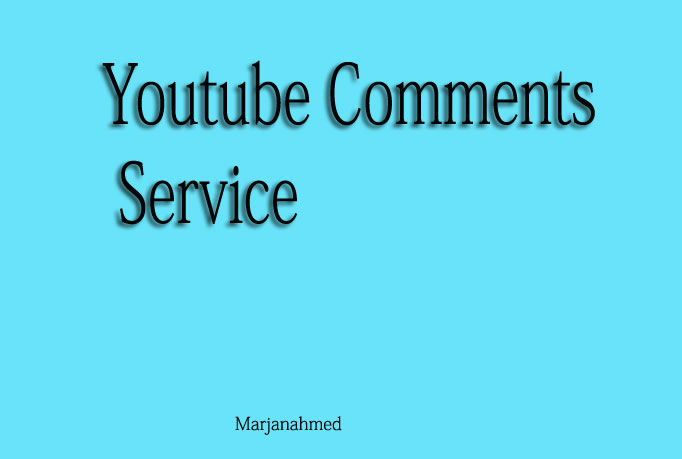 Will Get 25 YouTube Comments to your video