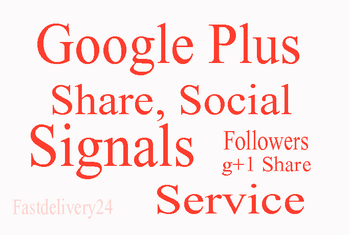 I will add 100 Google plus one for any website only