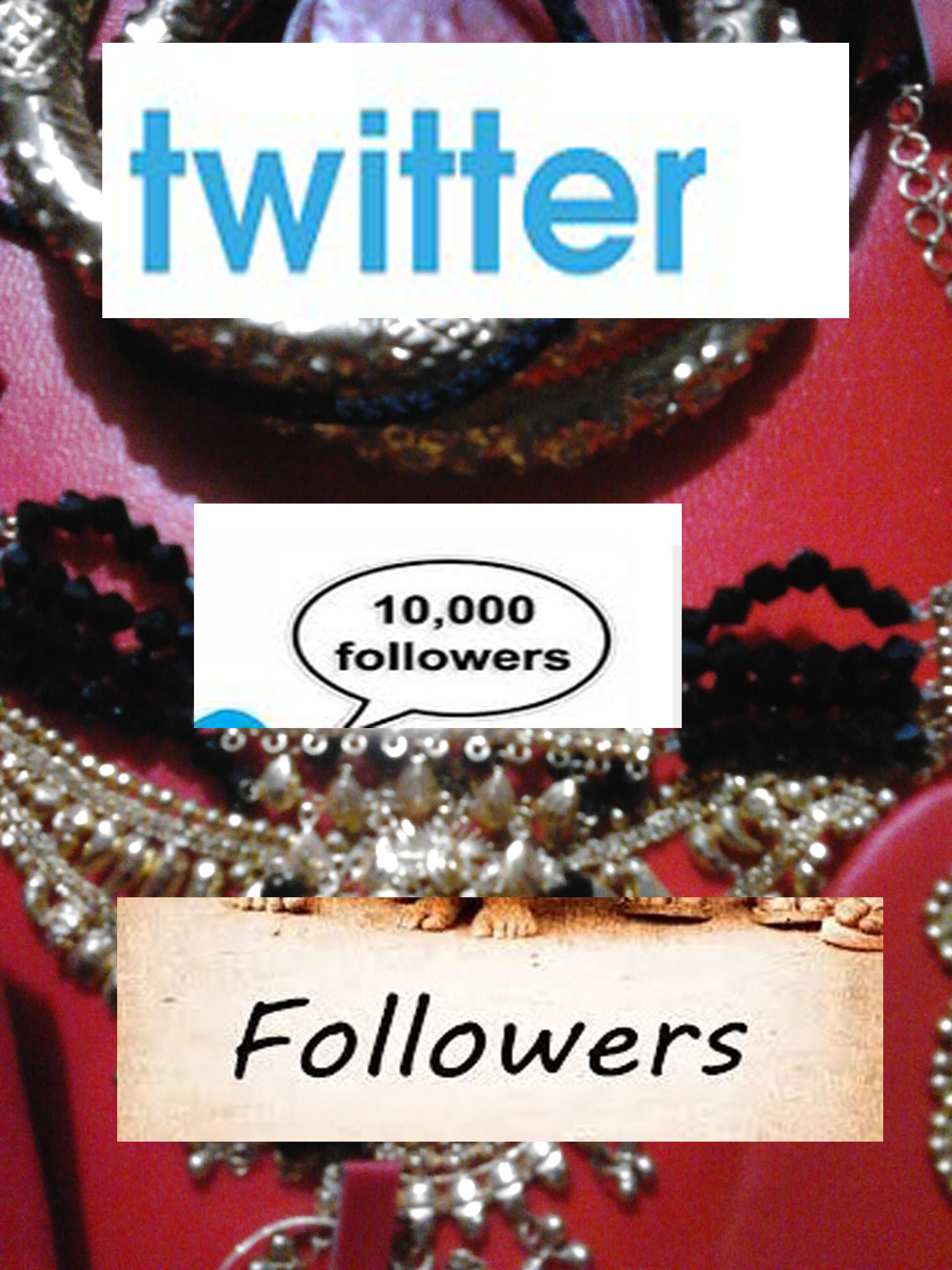 Realand Permanent & Human Verified Active 10,000+ Twit-ter Foll-owers