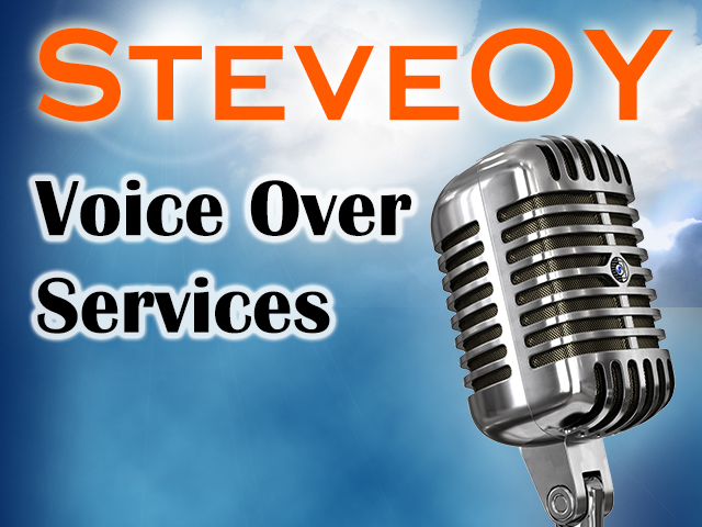 I will record an American English voice over