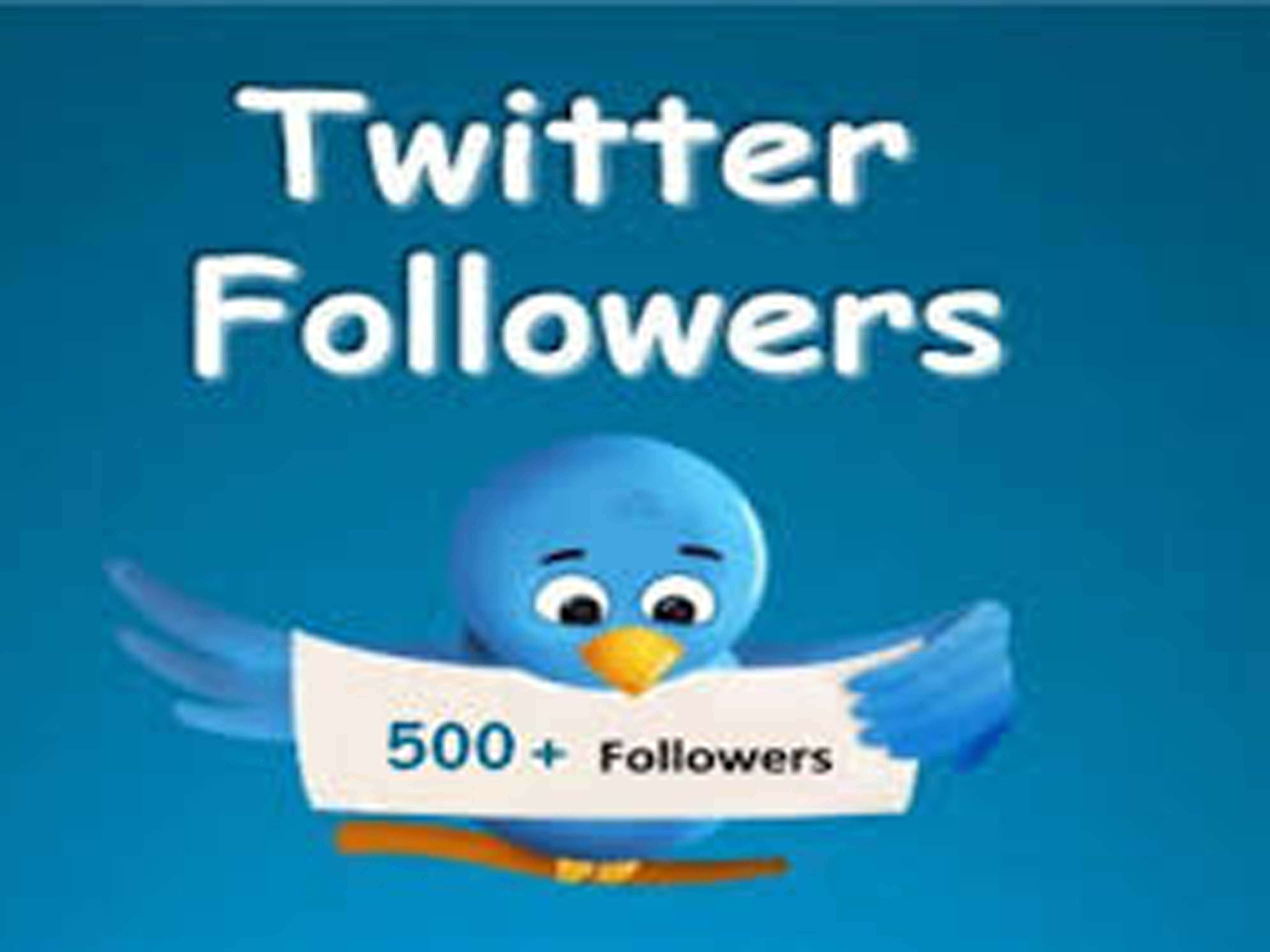 Provide real and permanent 1,000 Twitter Followers To Any Account