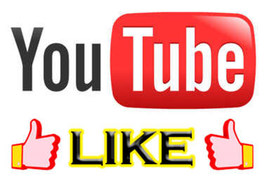 I will give you 100 youtube like 5  YouTube comment a... for $5