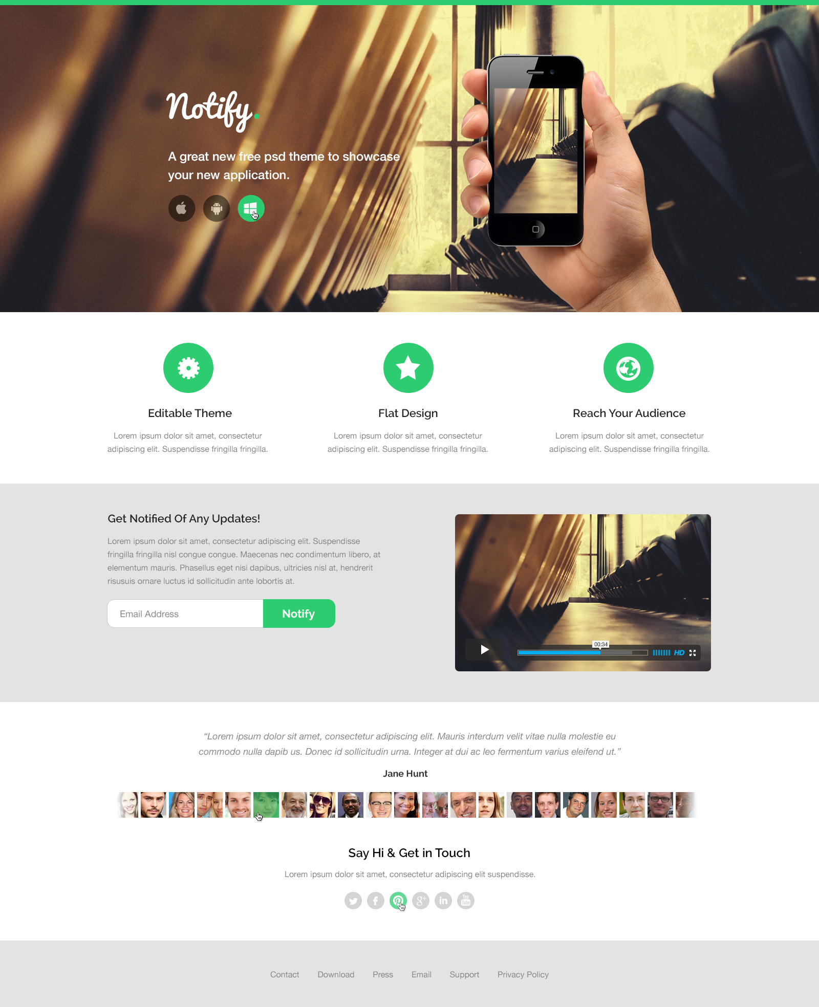 PsD to html & CSS Convart using bootstrap for