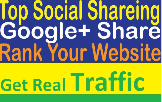 Get 150 Social Share for your website