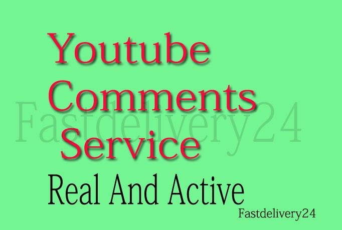 REAL Social Media 100 comments 10 Lks , 5 suscbes