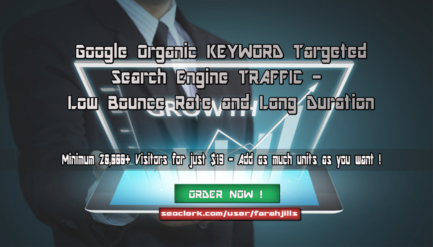 5K Keyword Target Organic TRAFFIC to Increase Website...