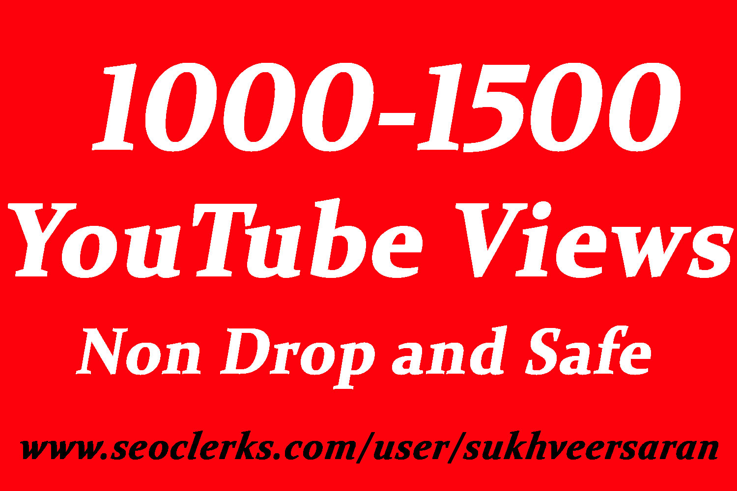 Get 1000 To 1500 High Quality Views with choice Extra service 2000, 3000, 4000, 5000, 6000, 7000, 8000, 9000,10000, 20000 and 50,000, 50k, 100,000 100k  video Views