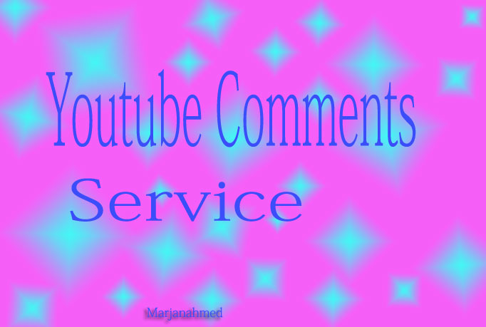 Manualy Add 15 YouTube Comments & 15 Likes to your video