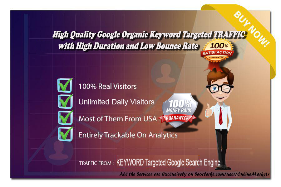 80000+ KEYWORD Targeted MOBILE or DESKTOP  TRAFFIC