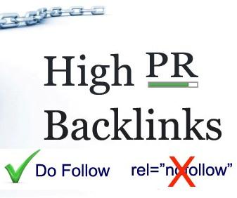 70 High Page Rank Do Follow Profile Backlinks