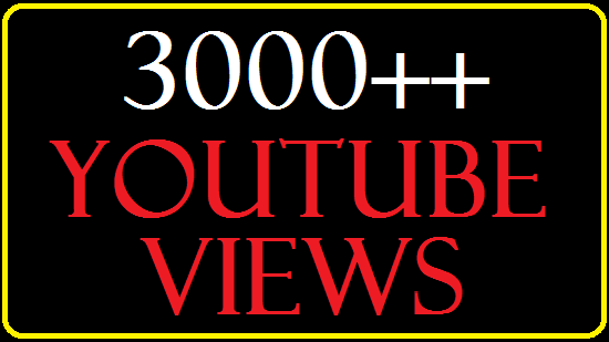 Get 3,000+  Split able You Tube View 300 lik es .