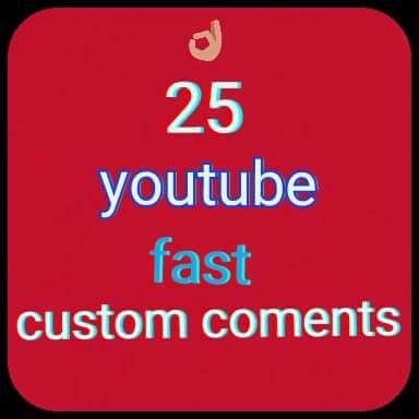 25+ Youtube Custom Comment 2/4 hours