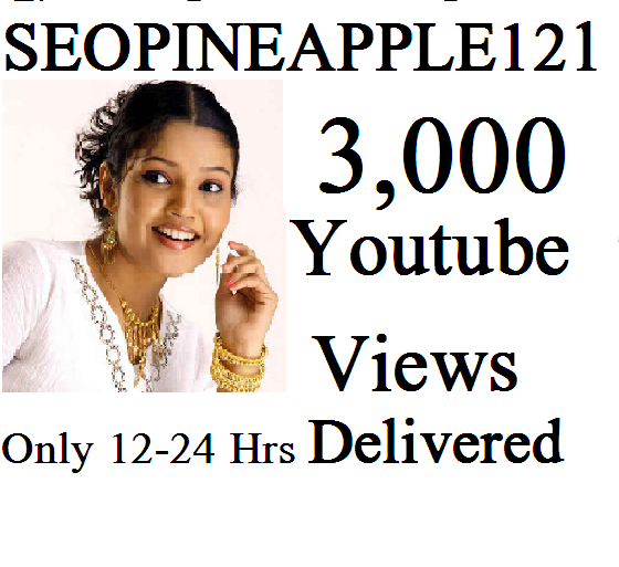 Get 3,000 Or 3K High Quality Views Fully Safe Instant Start Lifetime Guaranteed